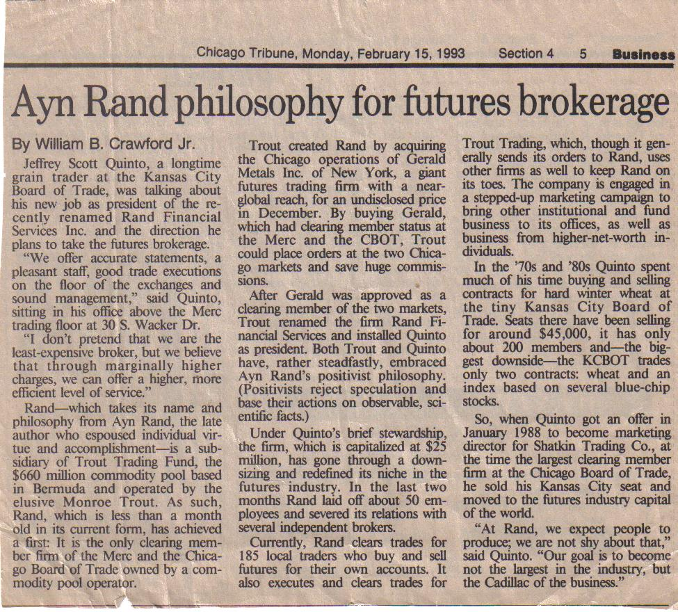 ayn rand essays and articles When the literary editor of the new republic asked me to review two new books on ayn rand three years burns came out with two essays about her contemporary.