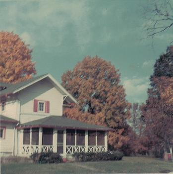 Brown County Cabin in 1969